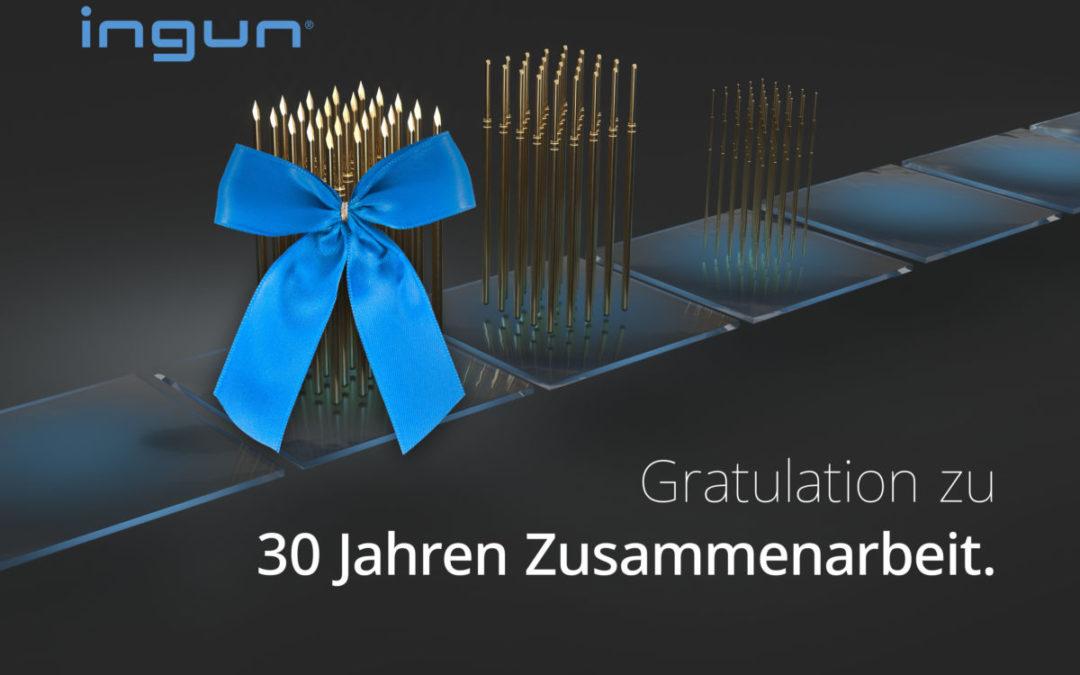 30 Jahre Zusammenarbeit – INGUN gratuliert Kokott