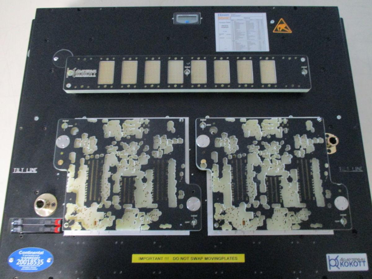 TSH 52 Inline Unterteil mit 2 Prüflingsaufnahmen