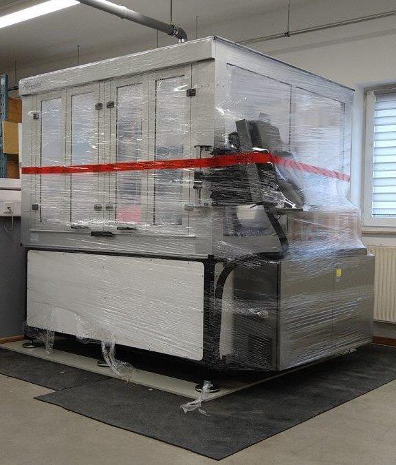 Neue CNC-Flachbettmaschine bei Adapterbau Kokott